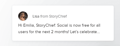 storychief free feature