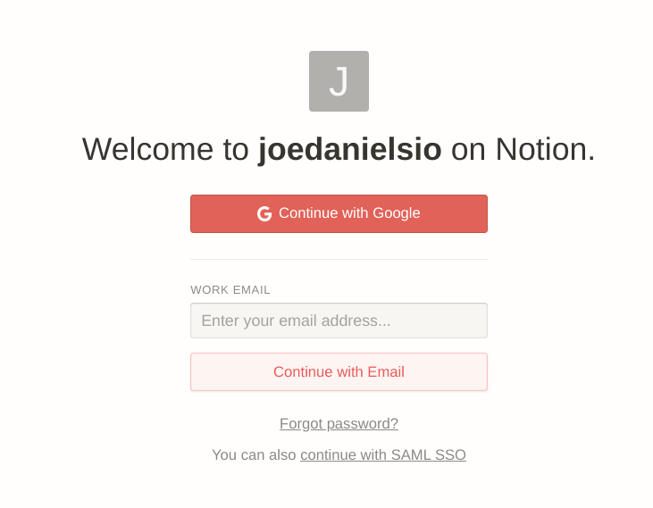 notion onboarding flow