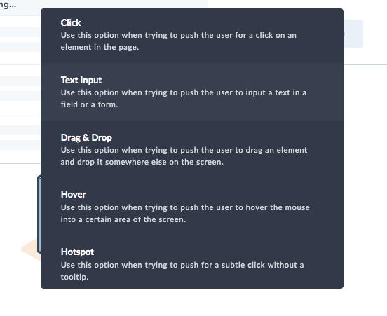 userpilot driven actions product experiments