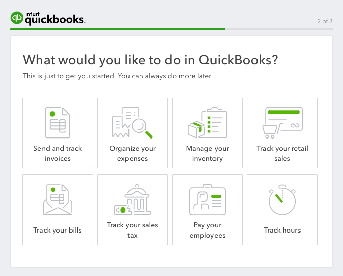 quickbooks use case survey