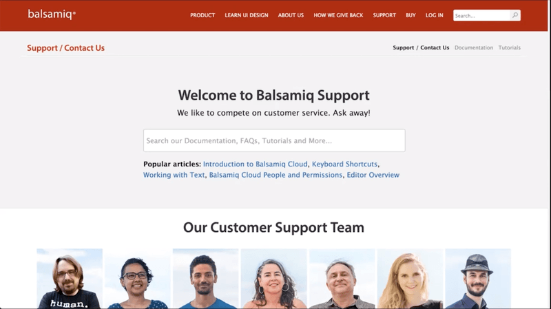 Customer support is vital