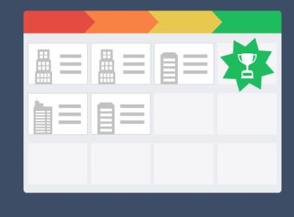 Salesflare's interactive walkthrough screenshot