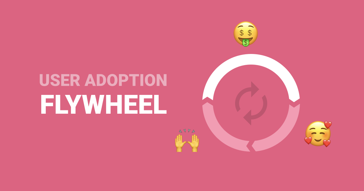 User adoption flywheel userpilot