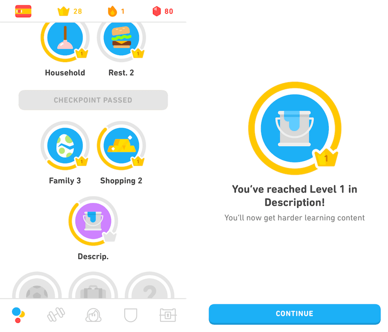 Gamification with Duolingo