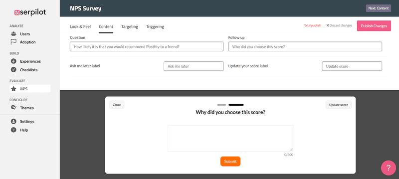 Follow up your NPS surveys