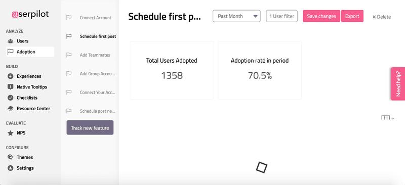 userpilot adoption rates