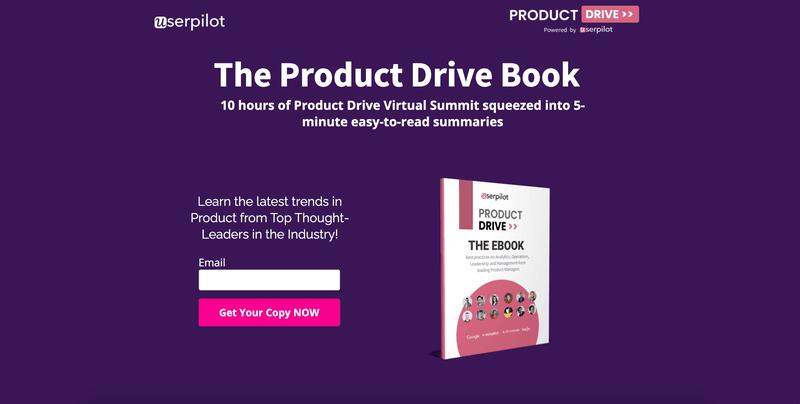 Landingi Product Drive page