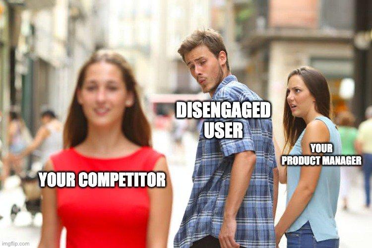 disengaged users meme